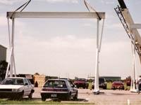Telescoping 10 ton A-Frames