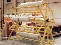 Hydraulic Fiberglass Roll Stock Carousel Unit